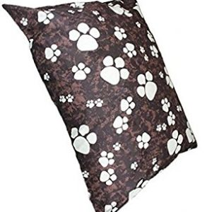 Brown paws pet dog bed